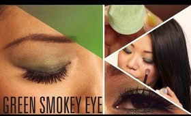 HOW TO: Green Smokey Eye for St. Patrick's