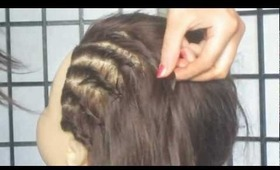 French Twist Faux Cornrows | Back To School Hairstyles