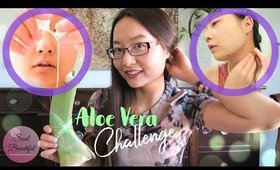 I used Aloe Vera on my FACE & NECK for 5 DAYS, This HAPPENED 😱