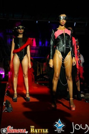 Luv this look...fashion show I did in Athens, Greece