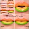 Fun ombre lips pictorial