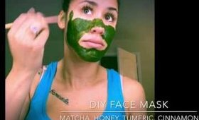 DIY Matcha Facial Mask