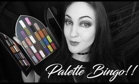 PALETTE BINGO | Kat Von D Saint and Sinner Palette!!
