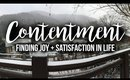 Contentment: Finding Joy + Satisfaction in Life