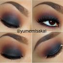 Warm Smokey Eye