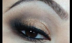 Lorac Pro Palette Tutorial - Golden Smokey Eyes