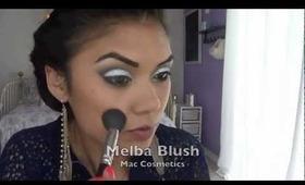 Dramatic Glitter Smokey Eye (Prom Makeup)