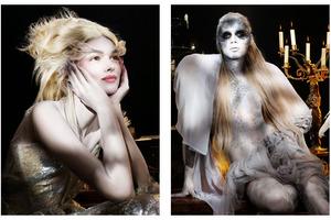 fairy, ghost, halloween look, avant garde