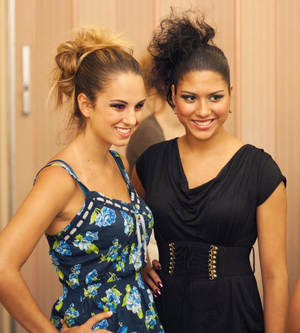 ARTS for ACT 2011 Models:  Ashley (in the print) and Joselin Not in their attire yet. Ashley's MUA:  Danielle Glunt Joselin's MUA:  Joelle Geiger