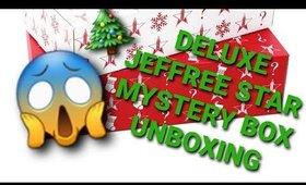 Deluxe Holiday Jeffree Star Mystery Box Unboxing. Giiiirrrlllll...