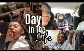 Day In The Life Of A Single Mom | Christmas Morning | Sophias First Time at the Movies