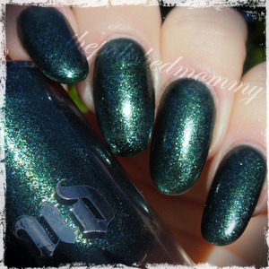 Swatch and review up on my blog>>> http://www.thepolishedmommy.com/2013/12/urban-decay-zodiac.html