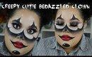 Creepy Cutie Clown Halloween Makeup
