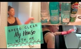 Clean With Me | Weekly Cleaning Routine | Speed Cleaning My House