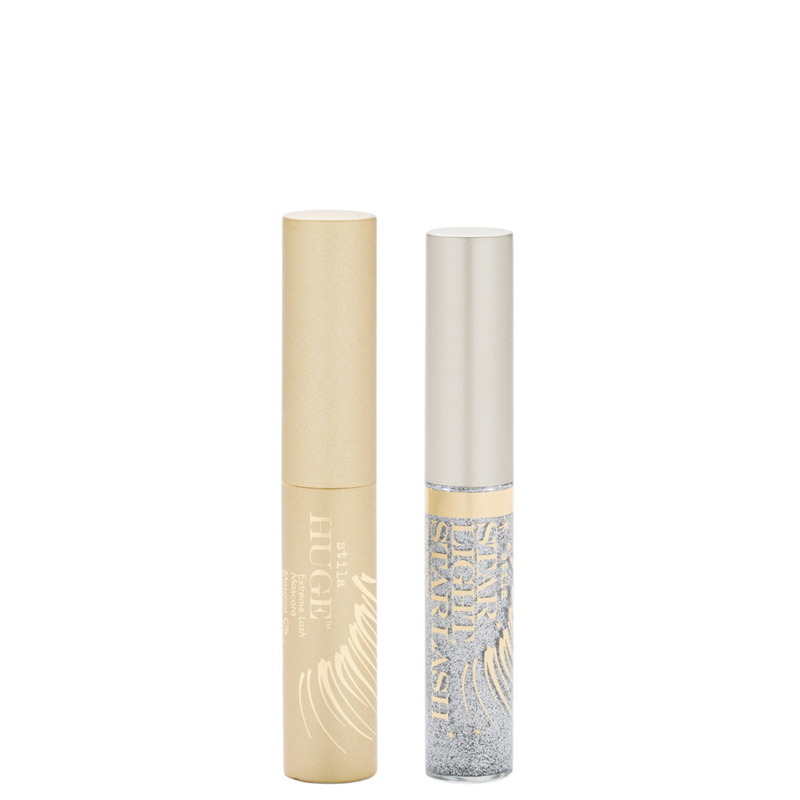 Stila Fringe With Benefits - Star Light, Star Lash Glitter Top Cot & Huge Extreme Lash Mascara alternative view 1.