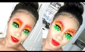 SnapChat Watermelon Makeup Look! | BeautybyGenecia