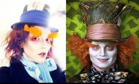 Mad Hatter Johnny Depp Make-Up by Kandee