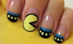Pac-Man Nails
