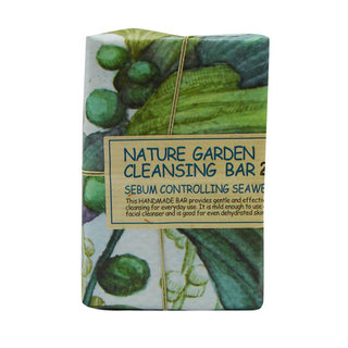 The Face Shop Nature Garden Cleansing Bar - Seaweed