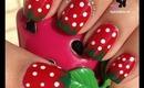 Strawberry Nails by The Crafty Ninja