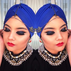 Check out the details on my blog: http://lovecraftnwitchheart.wordpress.com/2014/09/28/rihanna-of-arabia-harpers-bazaar-cover-inspired-makeup/  Follow My Instagram: http://instagram.com/bunniesan