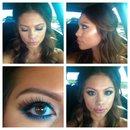 MOTD with blue eyeliner