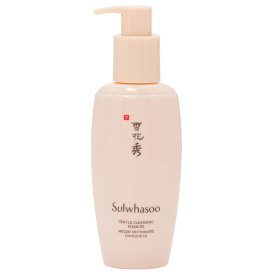 Sulwhasoo Gentle Cleansing Foam EX product smear.