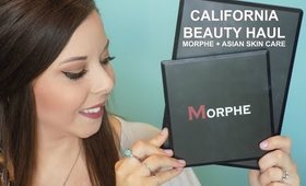 California Beauty Haul | Morphe + Asian Skin Care