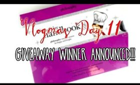 VLOGMAS DAY 11: GIVEAWAY WINNER ANNOUNCED!!!!!