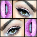 Winged out and pink