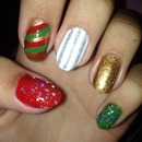 My nails for the Holidays!