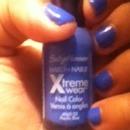 perfect blue color