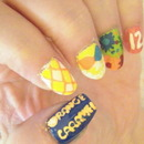 Kpoppin' Nails: Orange Caramel - Lipstick MV Nail Tutorial