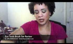 Eco Tools Brush Set Review