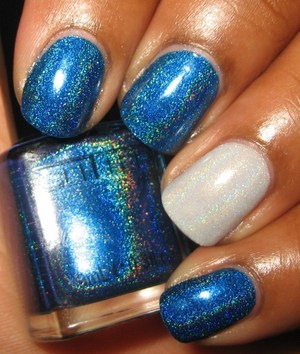Glitter Gal Marine Blue (Light As A Feather on ring)