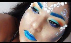 Halloween Makeup Tutorial: Mermaid