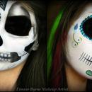 Skull Fantasy Makeup