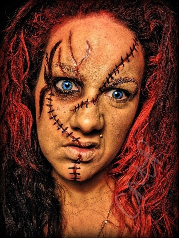 Chucky Special Effects Makeup Christina P S
