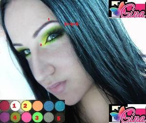 Acid Sleek palette