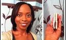 Review   L'Oreal Extraordinaire Liquid Lipstick - Plum Adagio