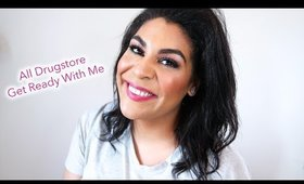 ALL DRUGSTORE GET READY WITH ME | queencarlene