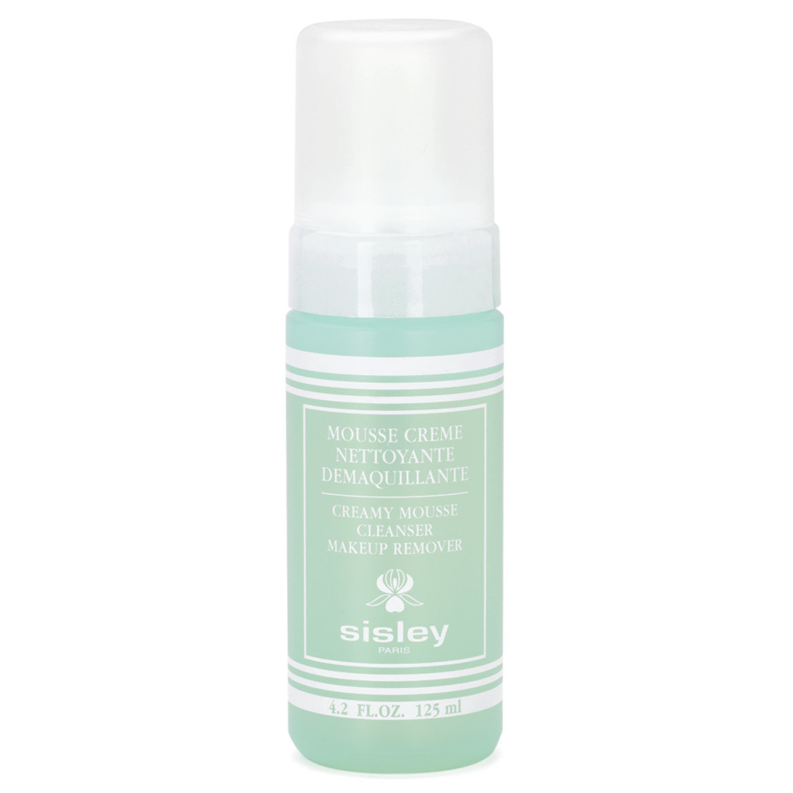 Sisley-Paris Creamy Mousse Cleanser & Makeup Remover product swatch.