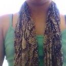 #3) My 3rd way to wear a scaf