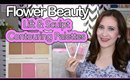 NEW Flower Beauty Lift & Sculpt Contouring Palettes - Review & Demo