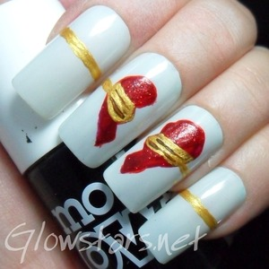 For more nail art visit Glowstars.net
