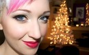 Gold Holiday Glitter Makeup Tutorial