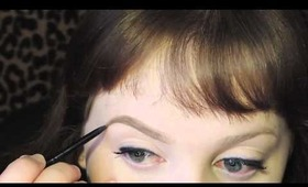 UPDATED brow tutorial! using Anastasia products