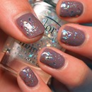 Essie Merino Cool under Color Club Covered in Diamonds