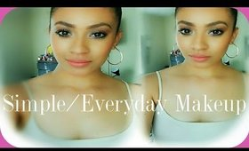 Simple Everyday Makeup Tutorial/ GIVEAWAY!!!! (CLOSED)