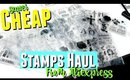 Cheap Clear Crafting Stamps Haul, Clear Stamp Haul for Crafting & Cardmaking & Cheap Dies for Sizzix